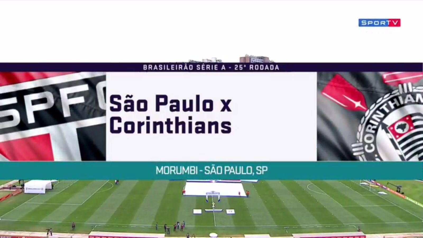 24-09-2017 - Sao Paulo 1-1 Corinthians