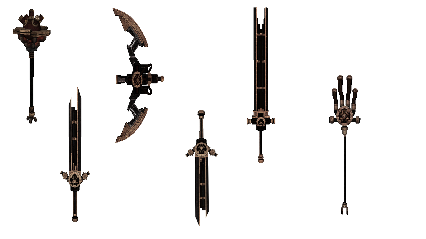 [RELEASE] Nuovo Set di Armi | Inforge Forum
