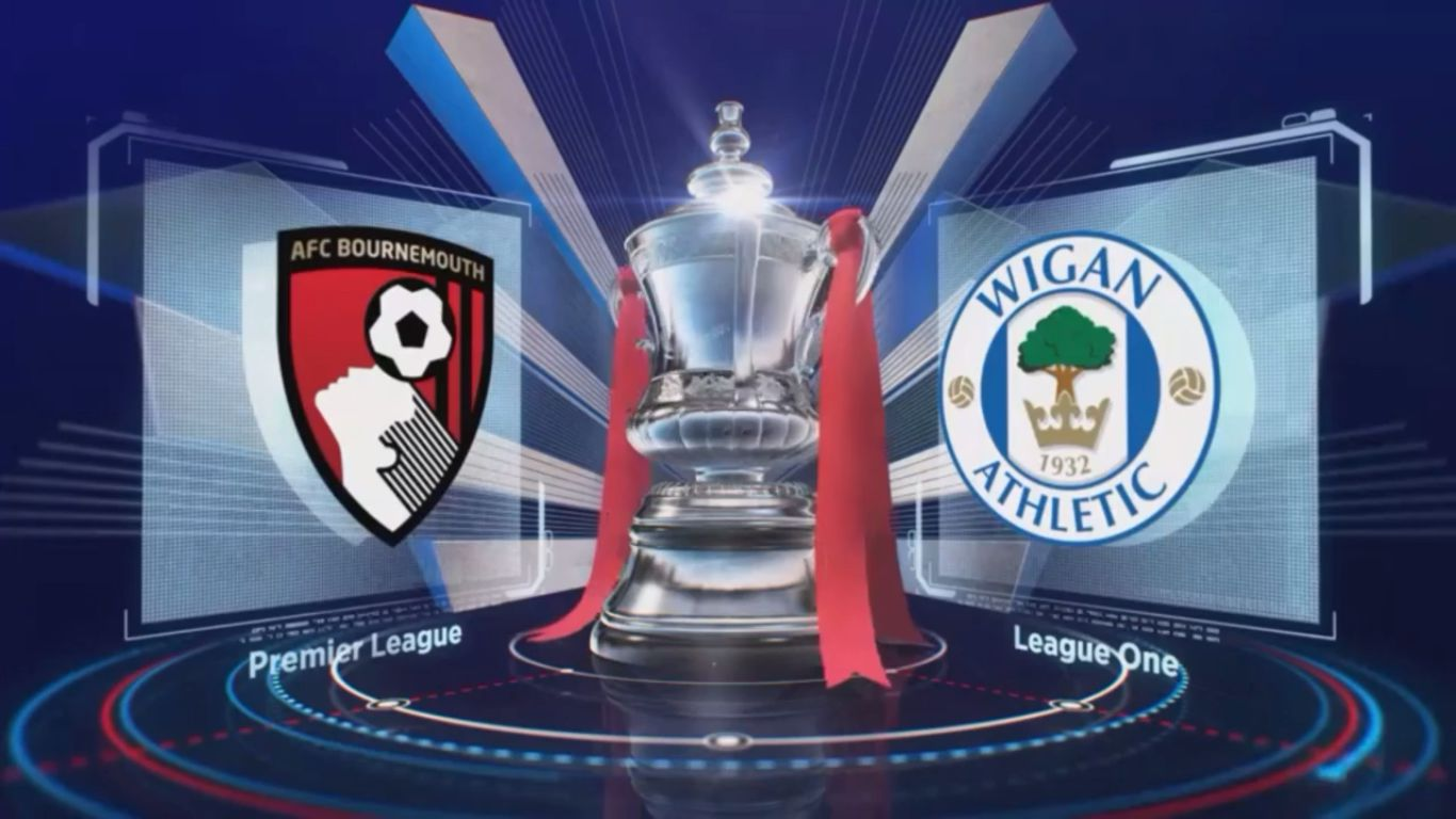 06-01-2018 - AFC Bournemouth 2-2 Wigan Athletic (FA CUP)