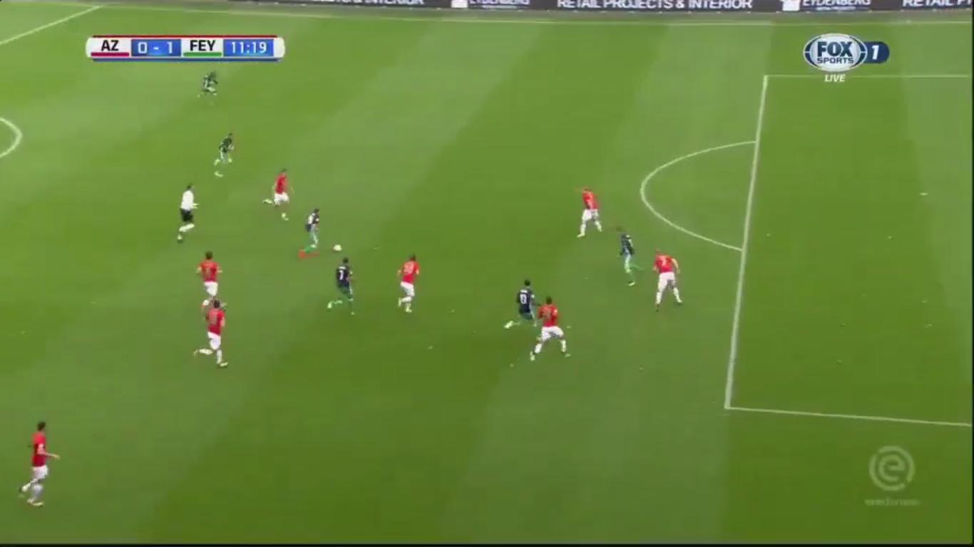 01-10-2017 - AZ Alkmaar 0-4 Feyenoord