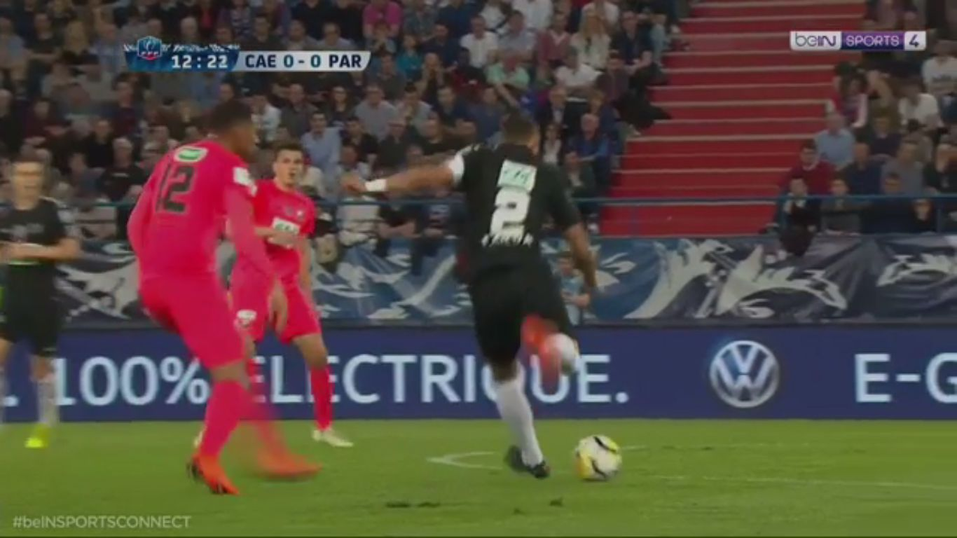 18-04-2018 - Caen 1-3 Paris Saint Germain (COUPE DE FRANCE)