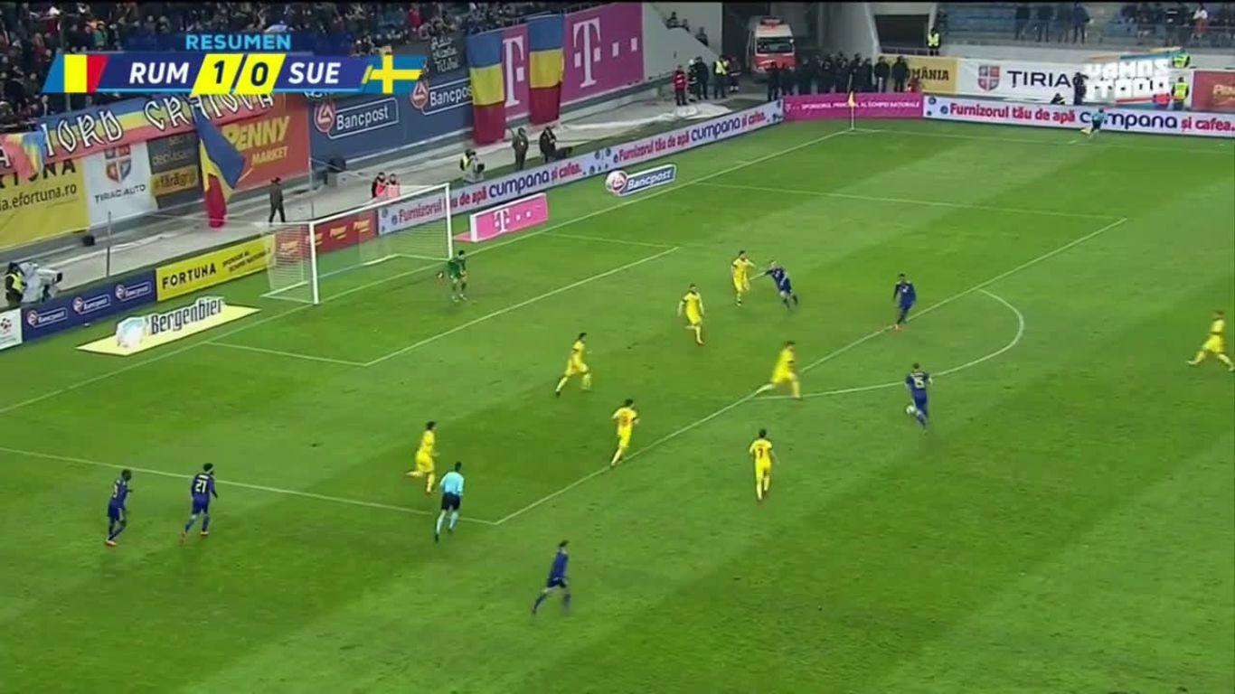 27-03-2018 - Romania 1-1 Sweden (FRIENDLY)