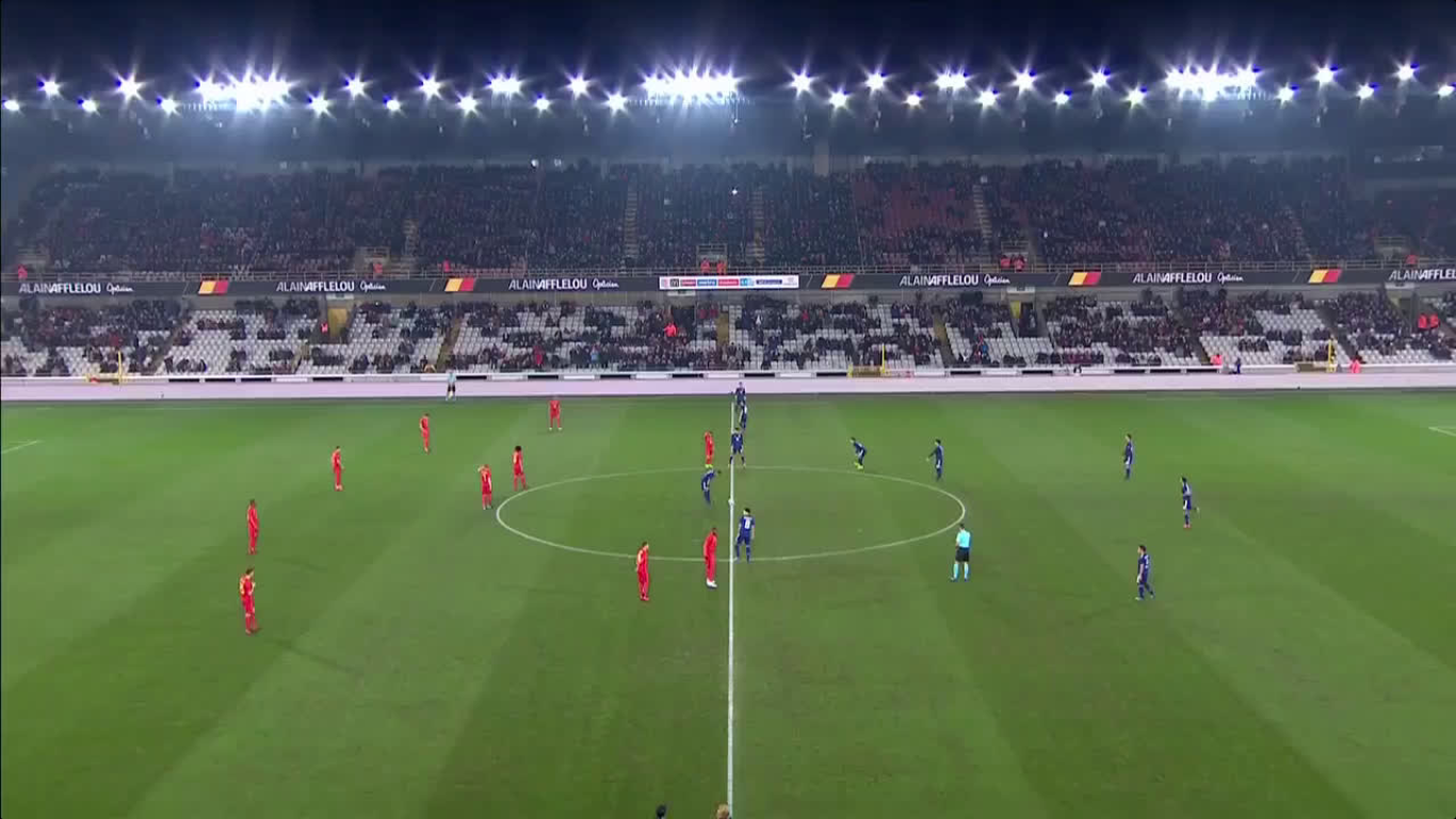 14-11-2017 - Belgium 1-0 Japan (FRIENDLY)