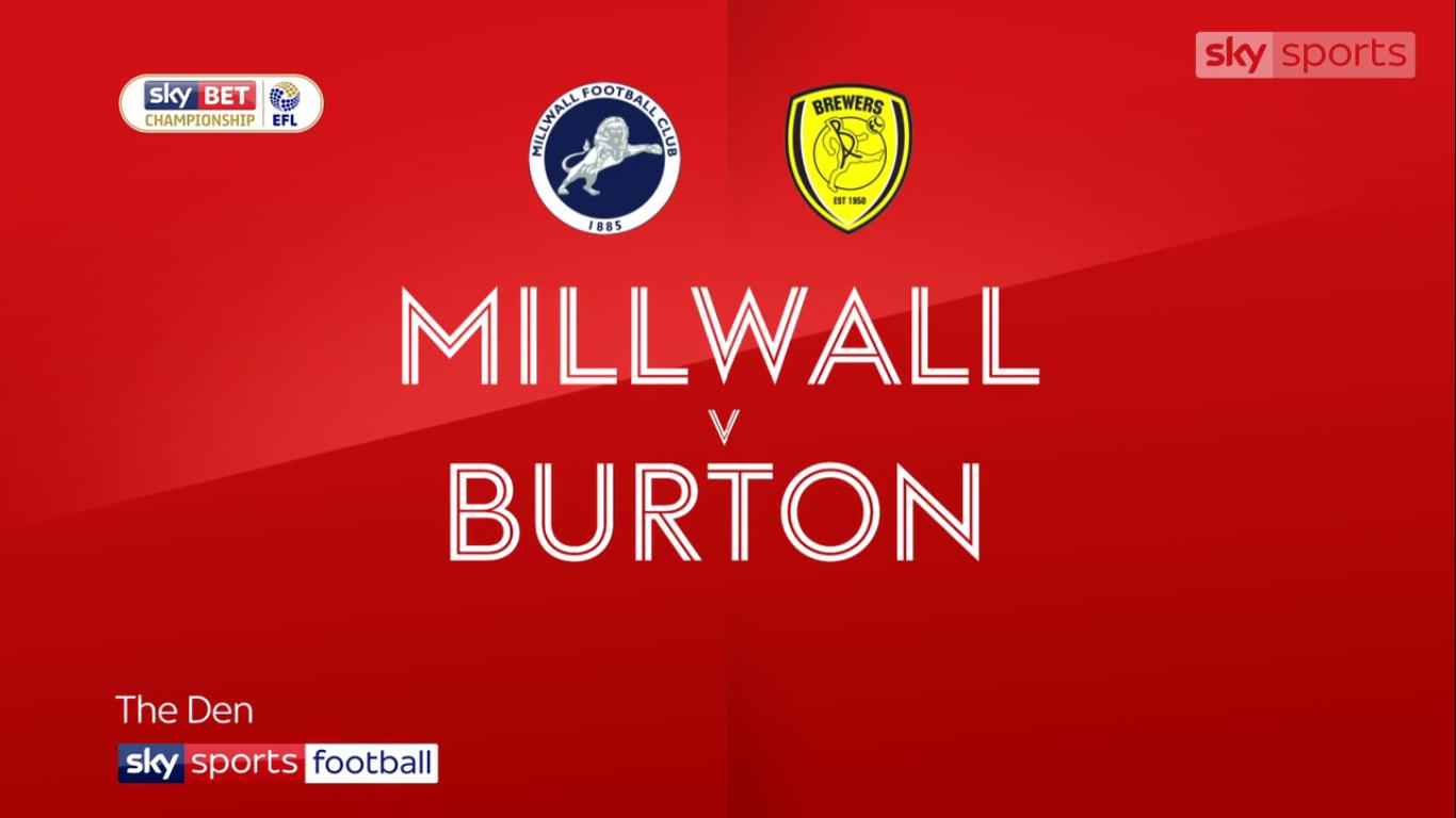 04-11-2017 - Millwall 0-1 Burton Albion (CHAMPIONSHIP)