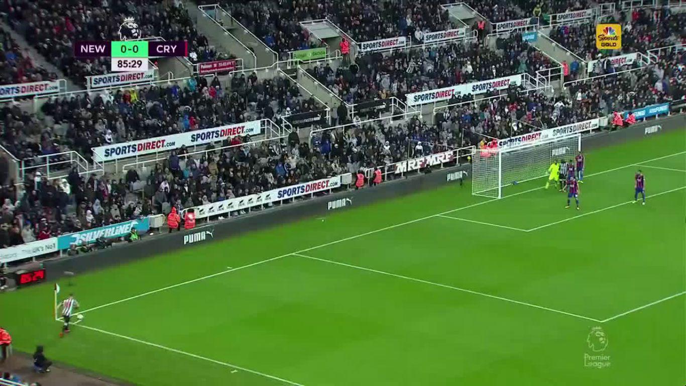 21-10-2017 - Newcastle United 1-0 Crystal Palace