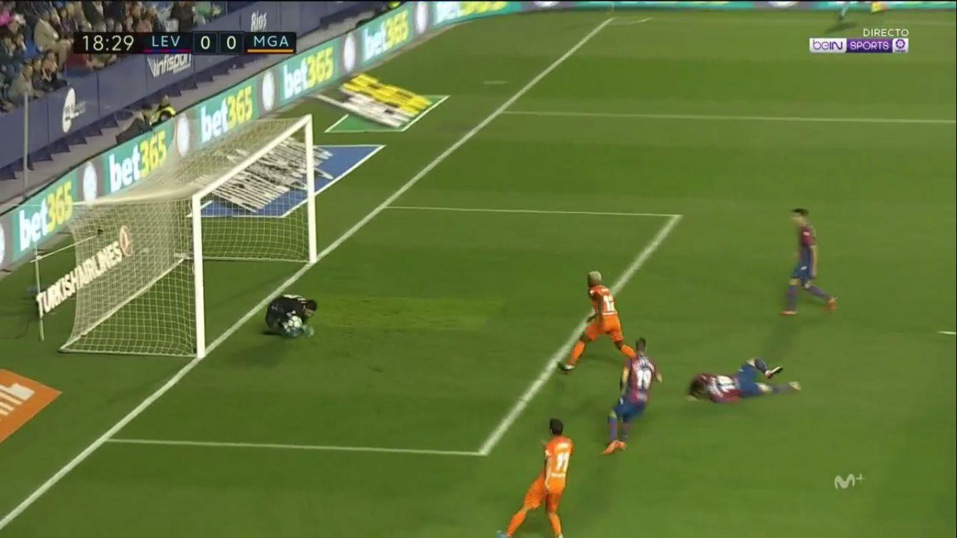 19-04-2018 - Levante 1-0 Malaga