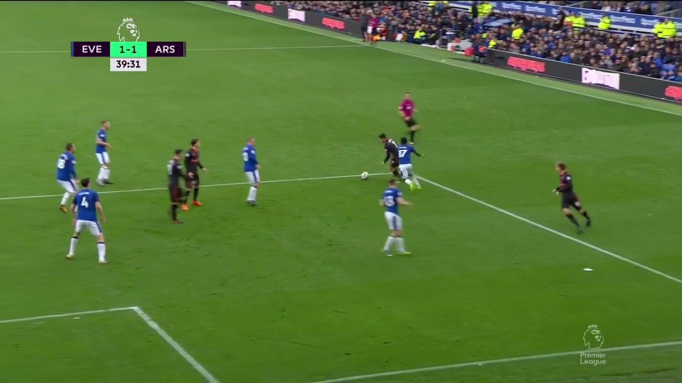 22-10-2017 - Everton 2-5 Arsenal