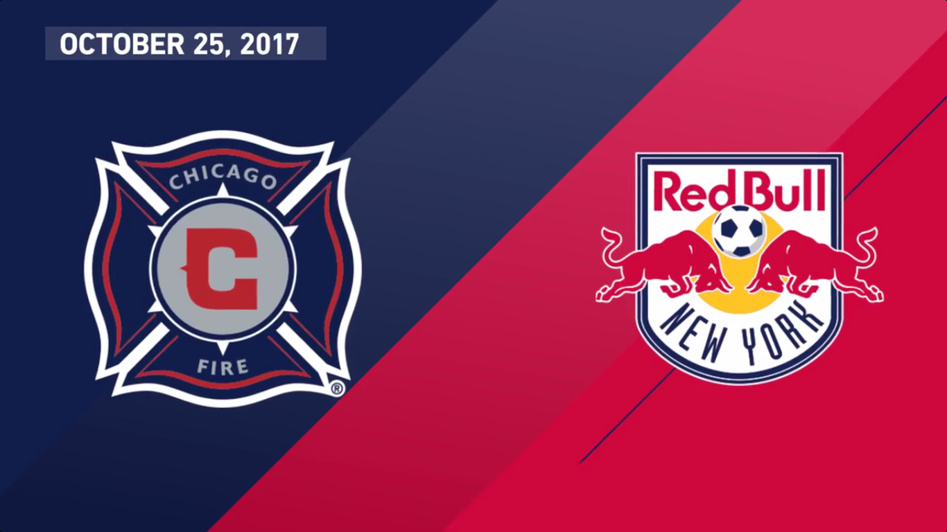 26-10-2017 - Chicago Fire 0-4 New York Red Bulls