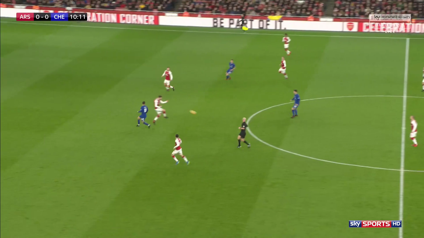 03-01-2018 - Arsenal 2-2 Chelsea