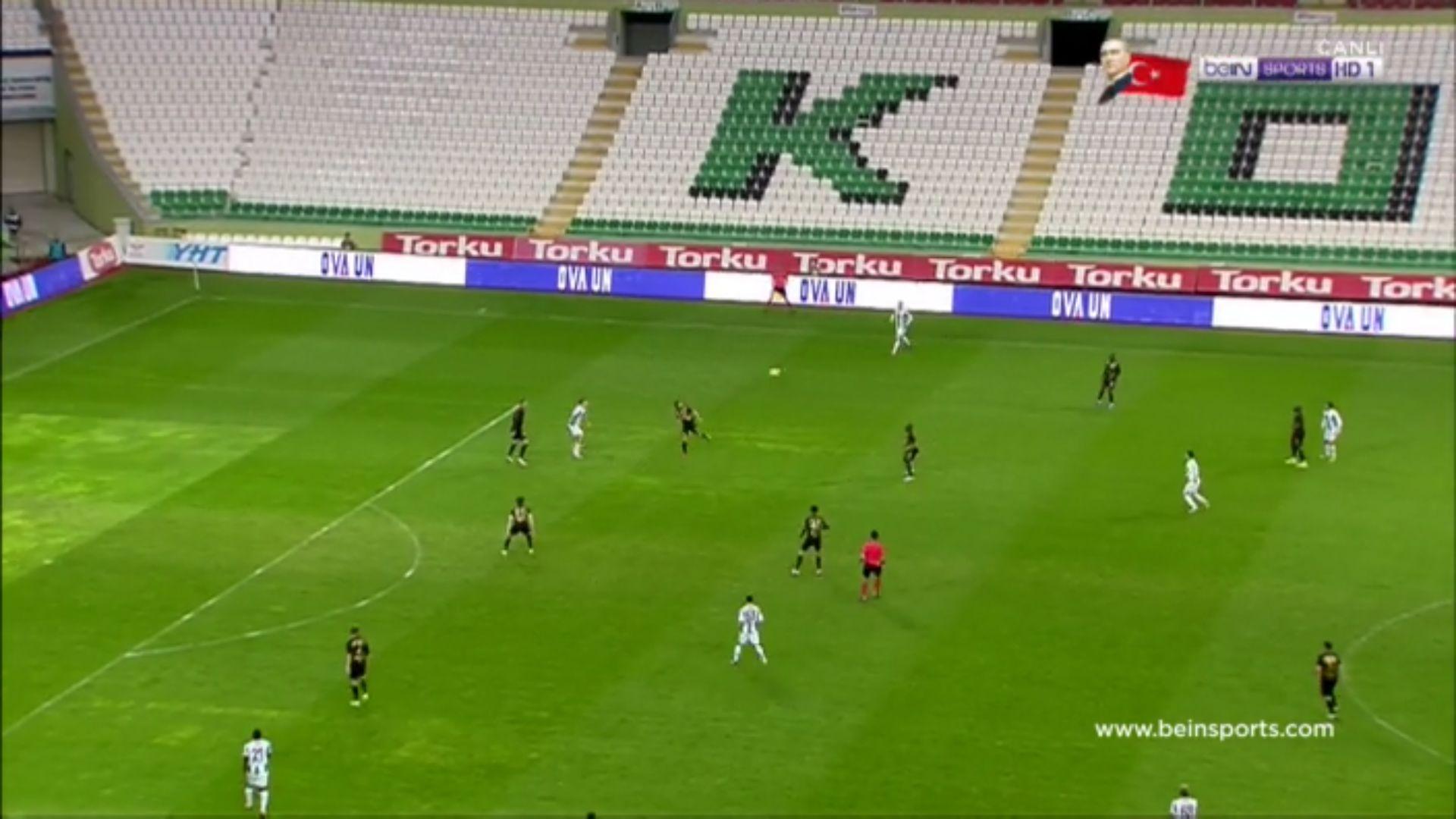 29-10-2017 - Konyaspor 1-0 Osmanlispor FK