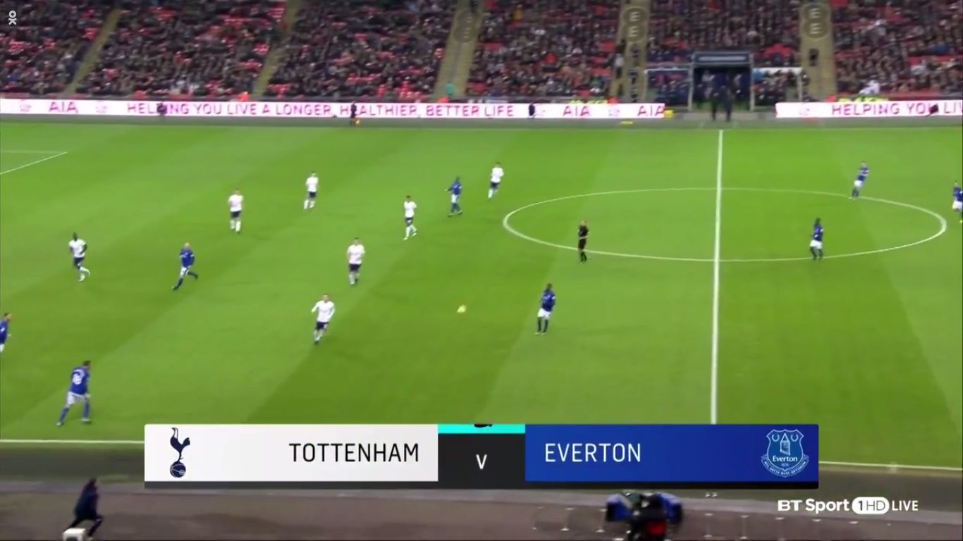 13-01-2018 - Tottenham Hotspur 4-0 Everton