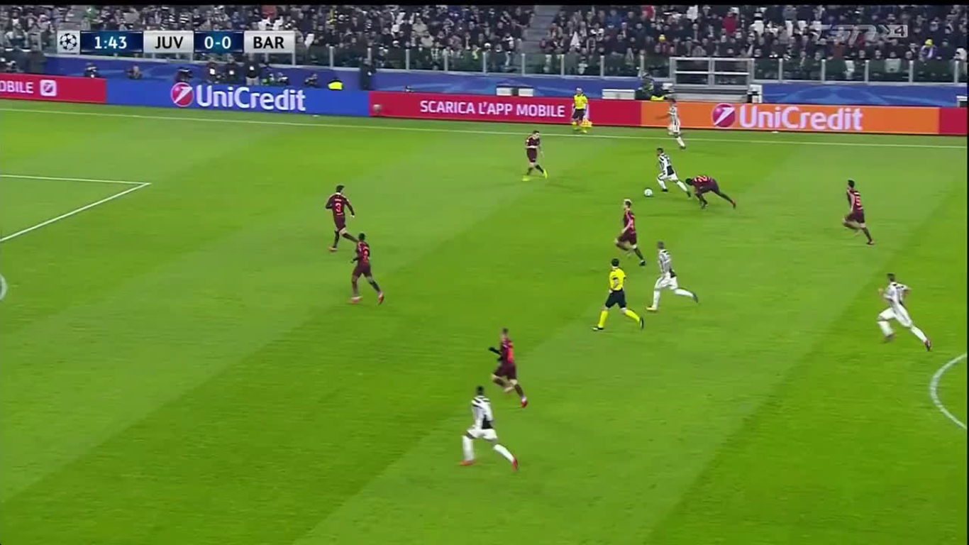 22-11-2017 - Juventus 0-0 Barcelona (CHAMPIONS LEAGUE)