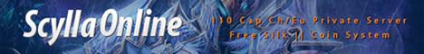 Scylla Online 110 Cap Free Silk  Coin System
