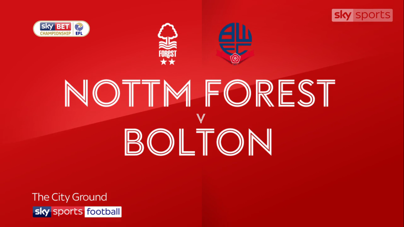 09-12-2017 - Nottingham Forest 3-2 Bolton Wanderers (CHAMPIONSHIP)