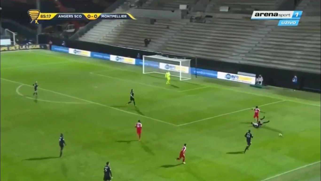 10-01-2018 - Angers 0-1 Montpellier