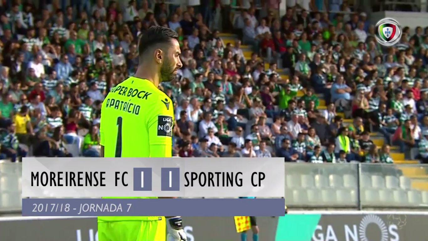 23-09-2017 - Moreirense 1-1 Sporting CP