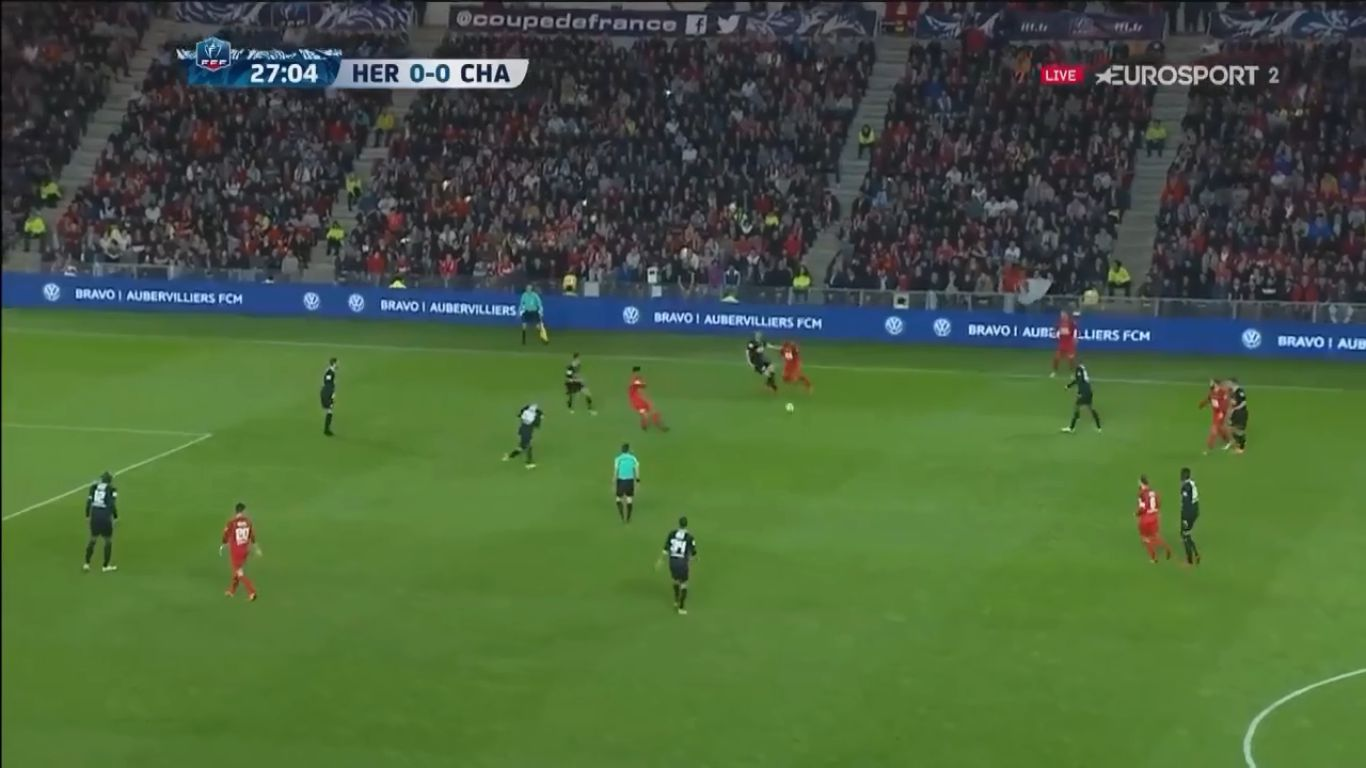 17-04-2018 - Les Herbiers 2-0 Chambly (COUPE DE FRANCE)