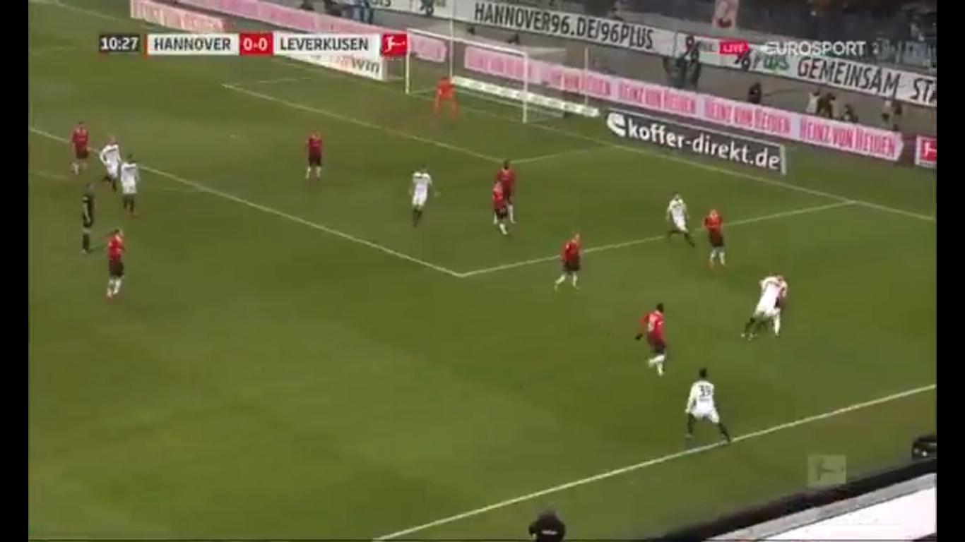 17-12-2017 - Hannover 96 4-4 Bayer Leverkusen