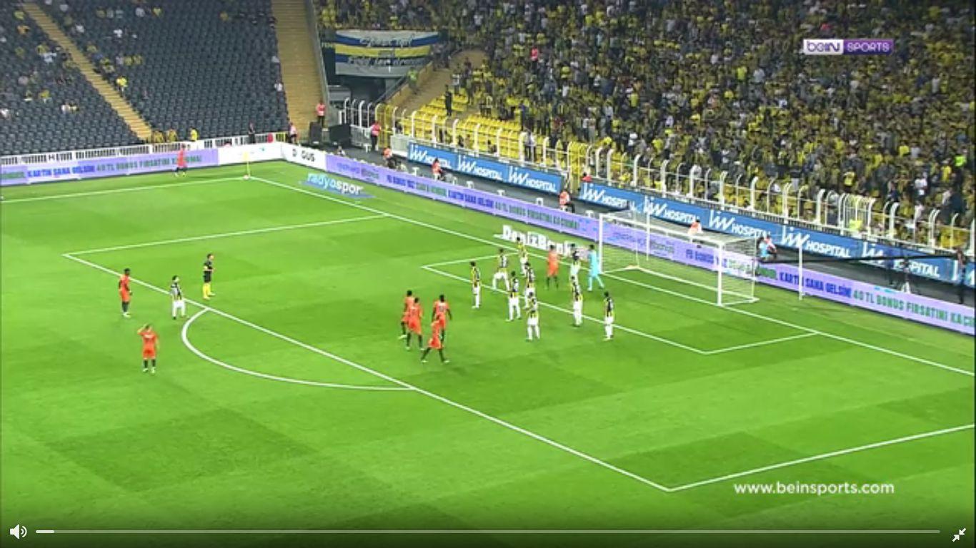 09-09-2017 - Fenerbahce 2-3 Istanbul Basaksehir