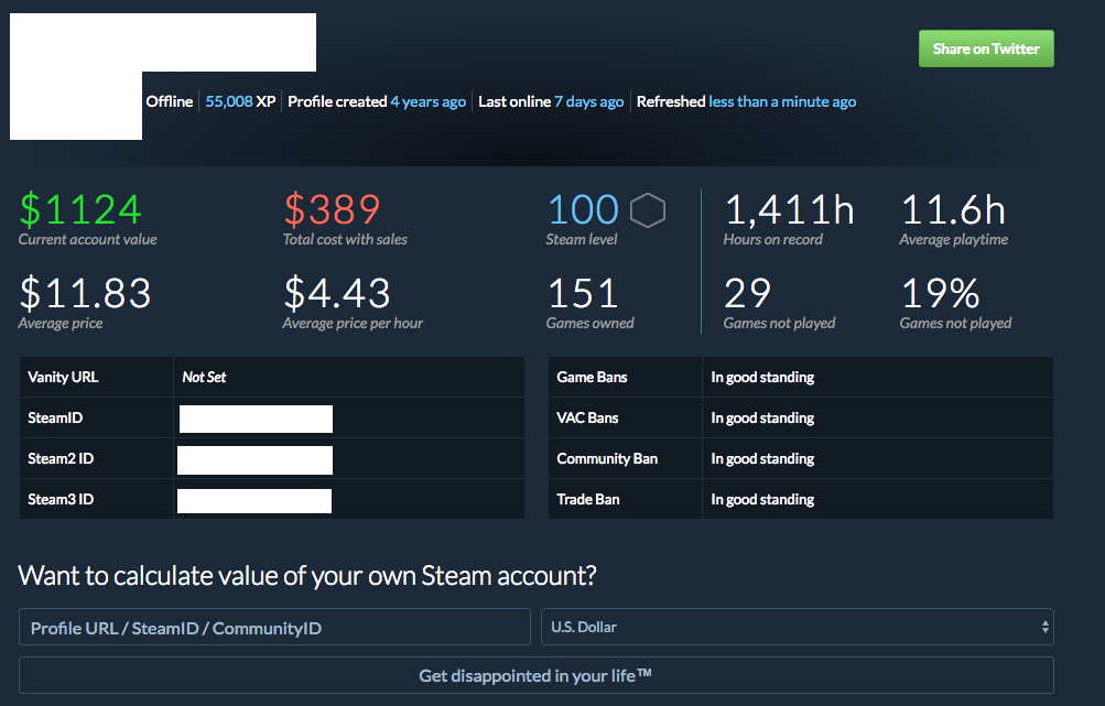 Sold - Selling Level 100 | Original Email/Owner | 151 Games | Clean