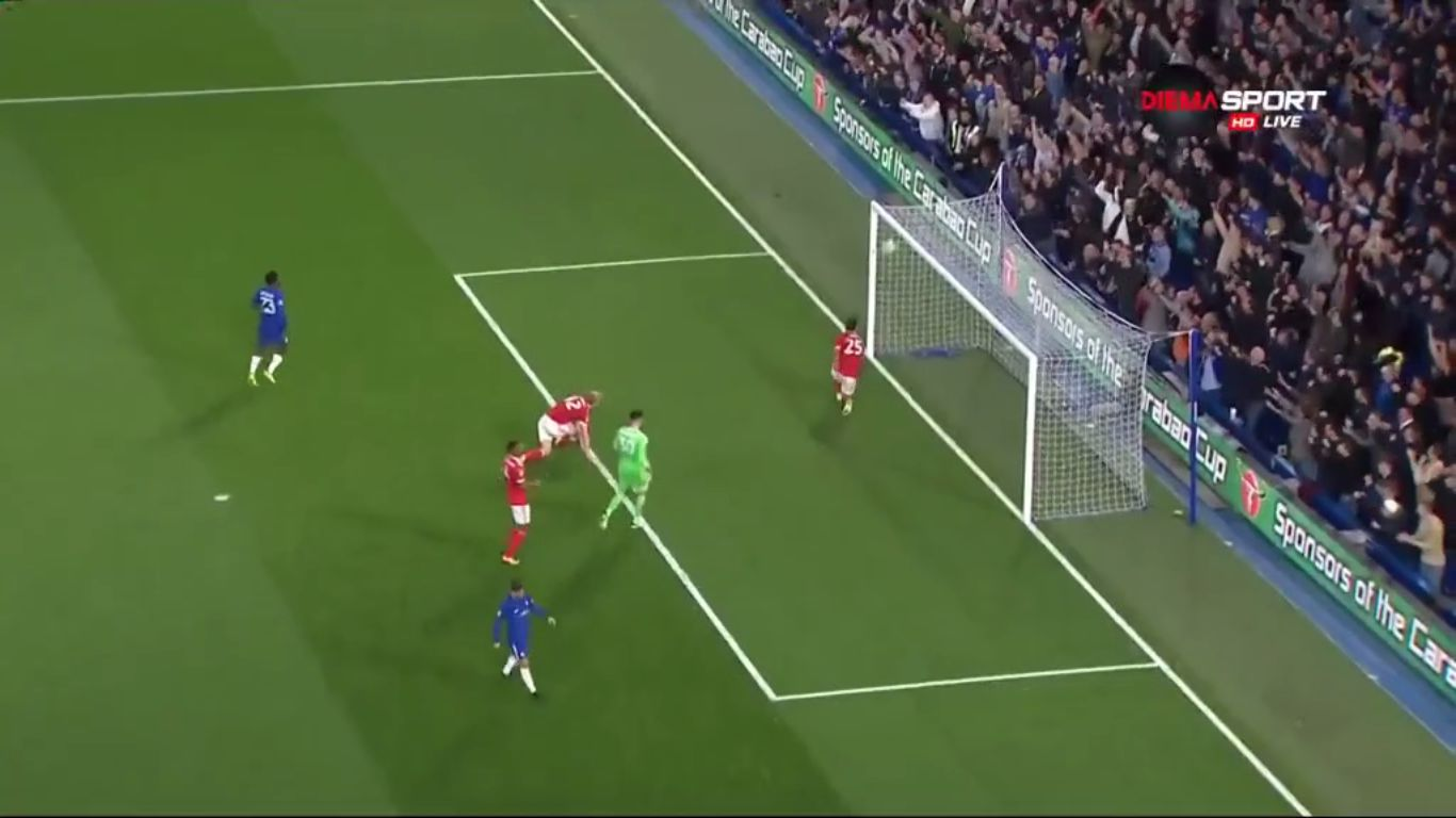 20-09-2017 - Chelsea 5-1 Nottingham Forest (EFL CUP)