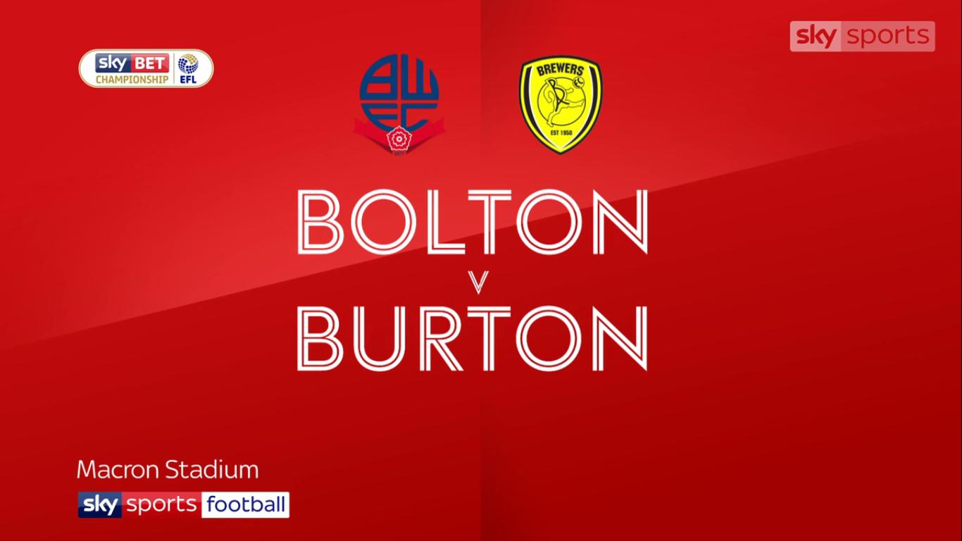 16-12-2017 - Bolton Wanderers 0-1 Burton Albion (CHAMPIONSHIP)