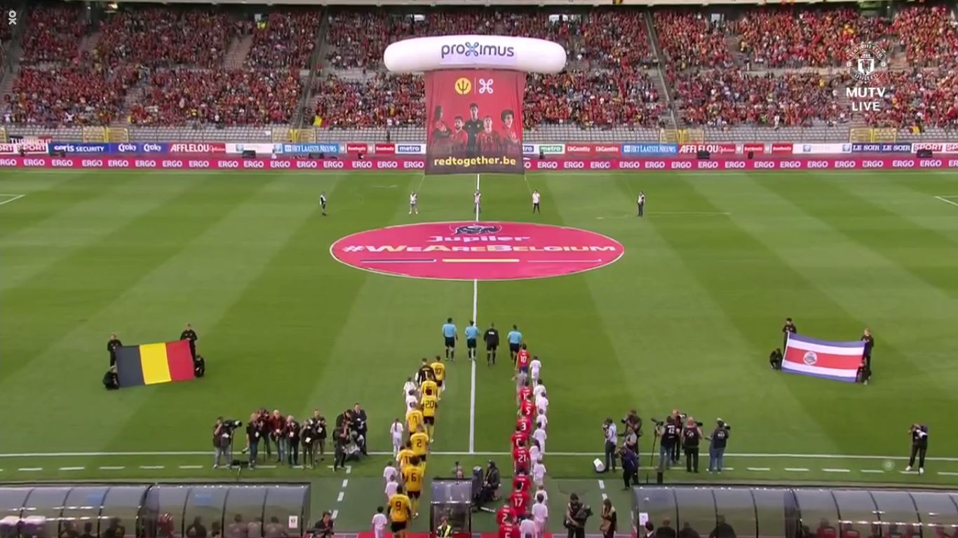 11-06-2018 - Belgium 4-1 Costa Rica (FRIENDLY)
