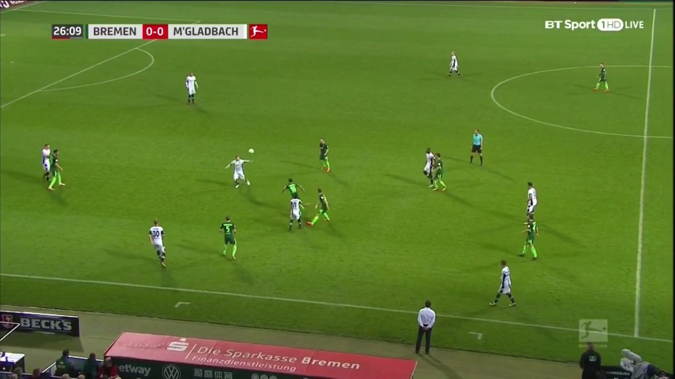 15-10-2017 - Werder Bremen 0-2 Borussia Moenchengladbach
