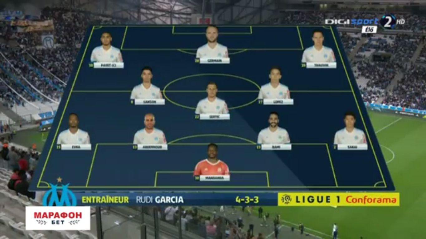 10-09-2017 - Marseille 1-3 Rennes