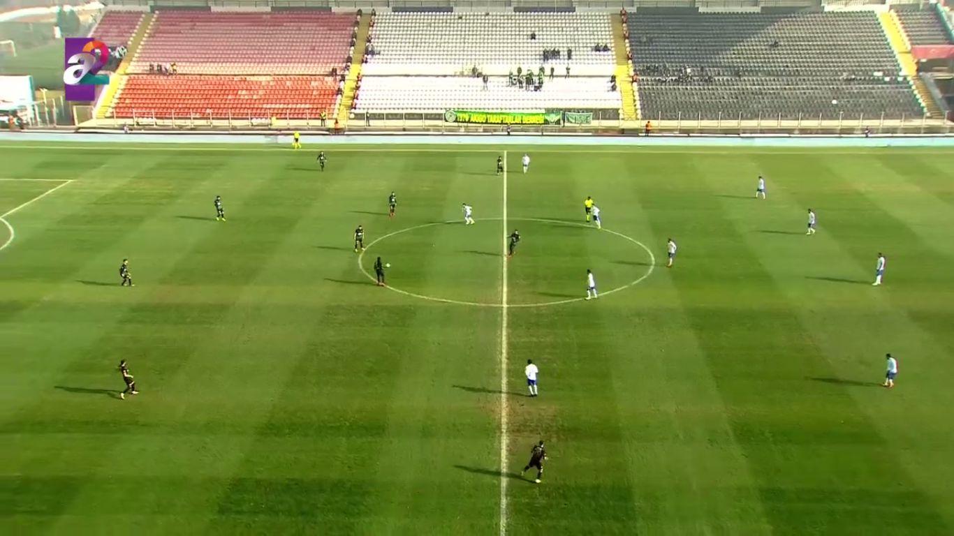 13-12-2017 - Akhisar Belediye Genclik Ve Spor 1-1 Ankara Demirspor (ZIRAAT CUP)