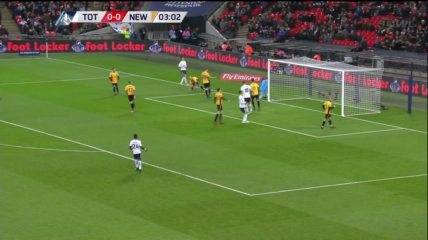 07-02-2018 - Tottenham Hotspur 2-0 Newport County (FA CUP)