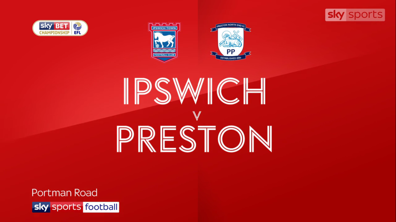 04-11-2017 - Ipswich Town 3-0 Preston North End (CHAMPIONSHIP)