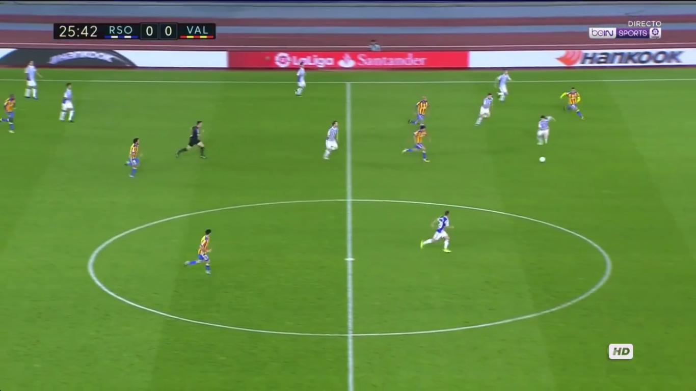 24-09-2017 - Real Sociedad 2-3 Valencia