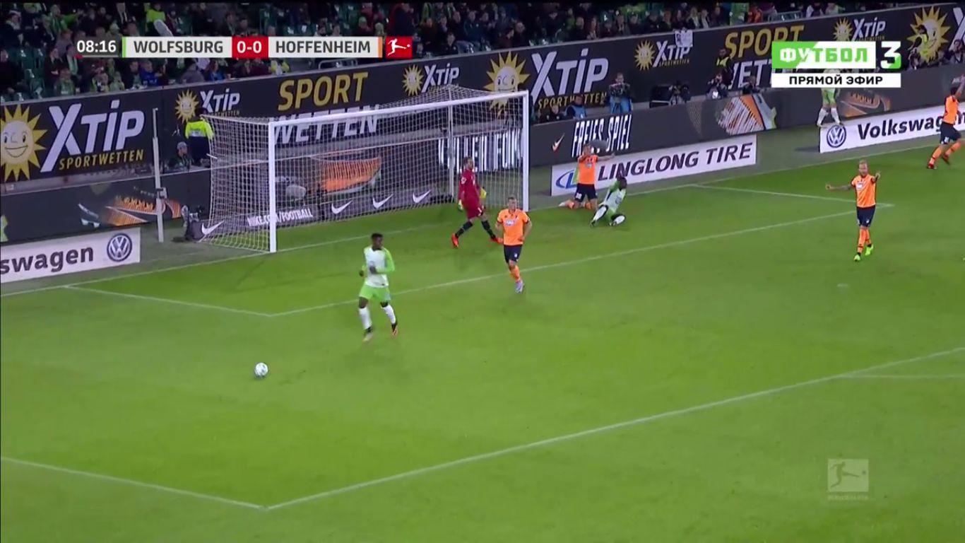 22-10-2017 - Wolfsburg 1-1 Hoffenheim