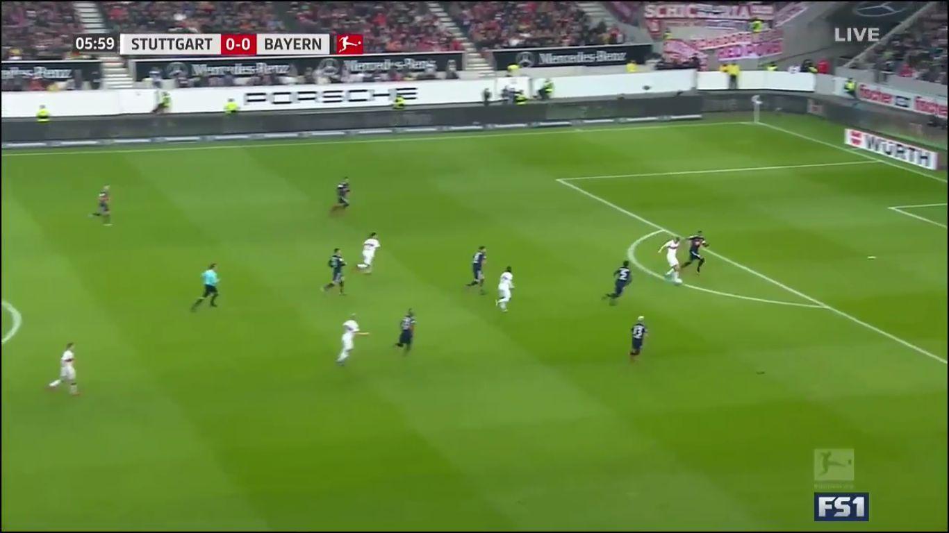 16-12-2017 - VfB Stuttgart 0-1 Bayern Munich