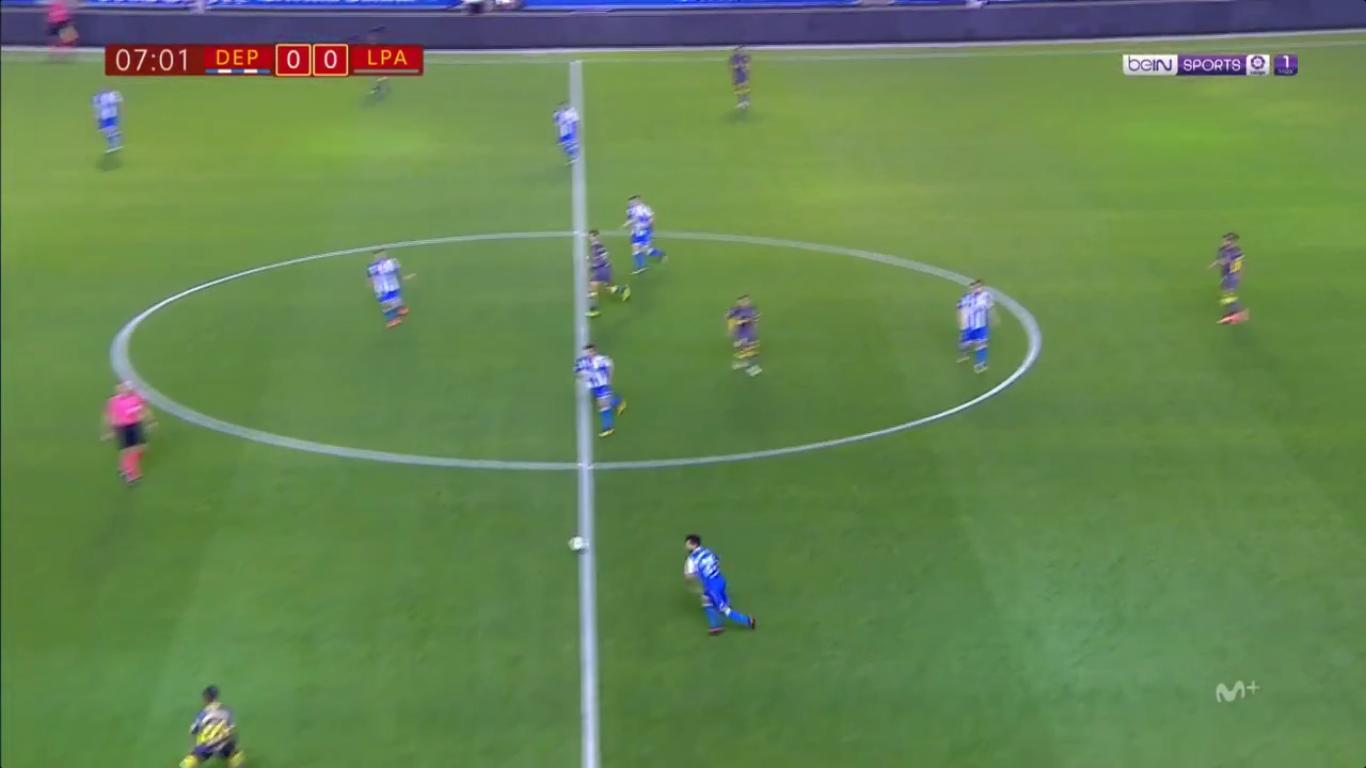 26-10-2017 - Deportivo La Coruna 1-4 Las Palmas (COPA DEL REY)