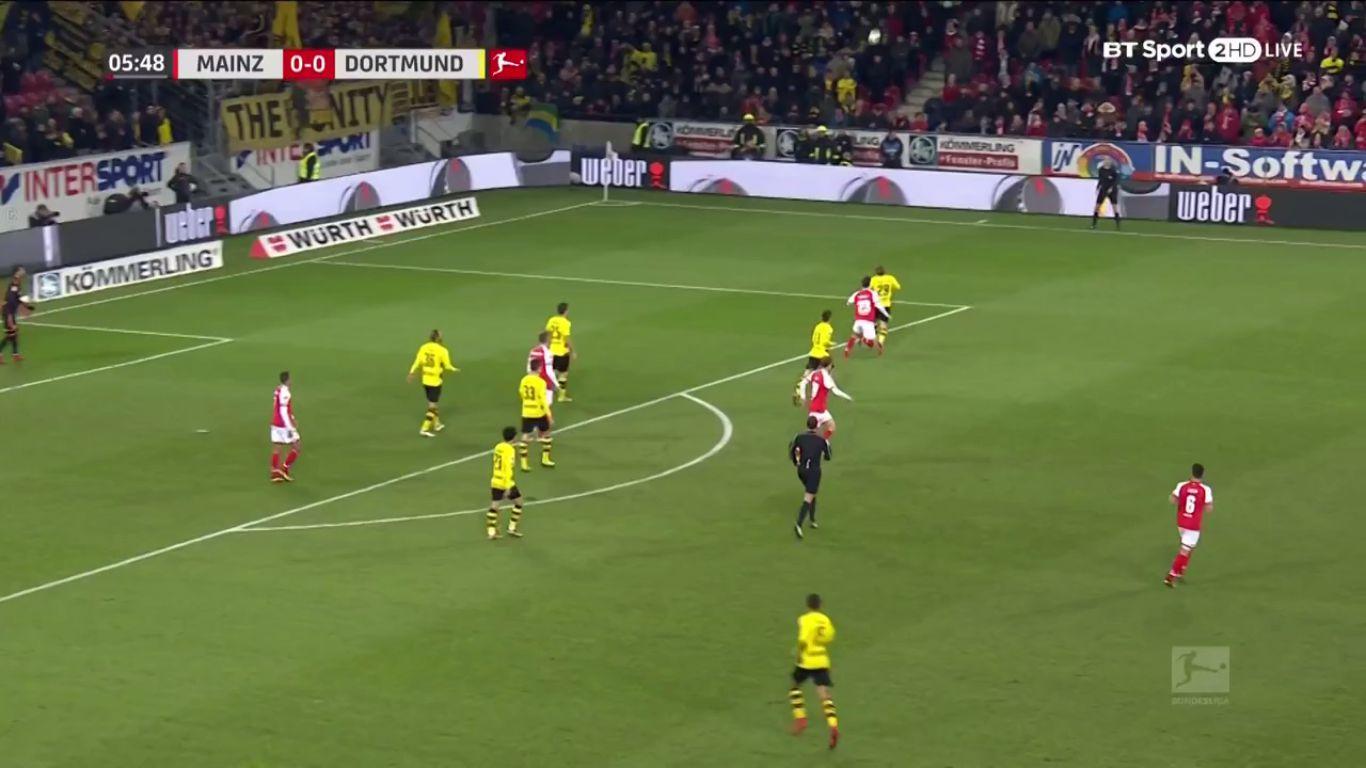 12-12-2017 - Mainz 05 0-2 Borussia Dortmund