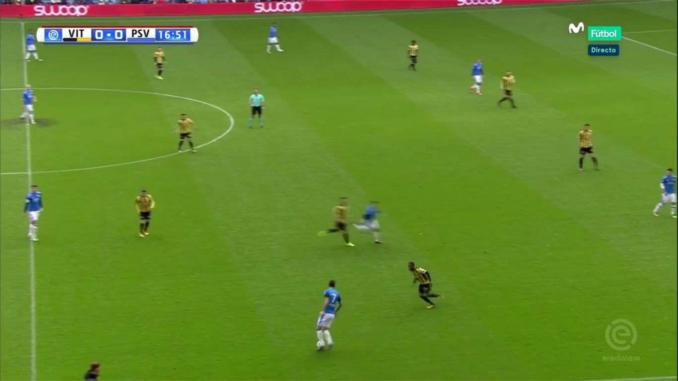 29-10-2017 - Vitesse 2-4 PSV Eindhoven