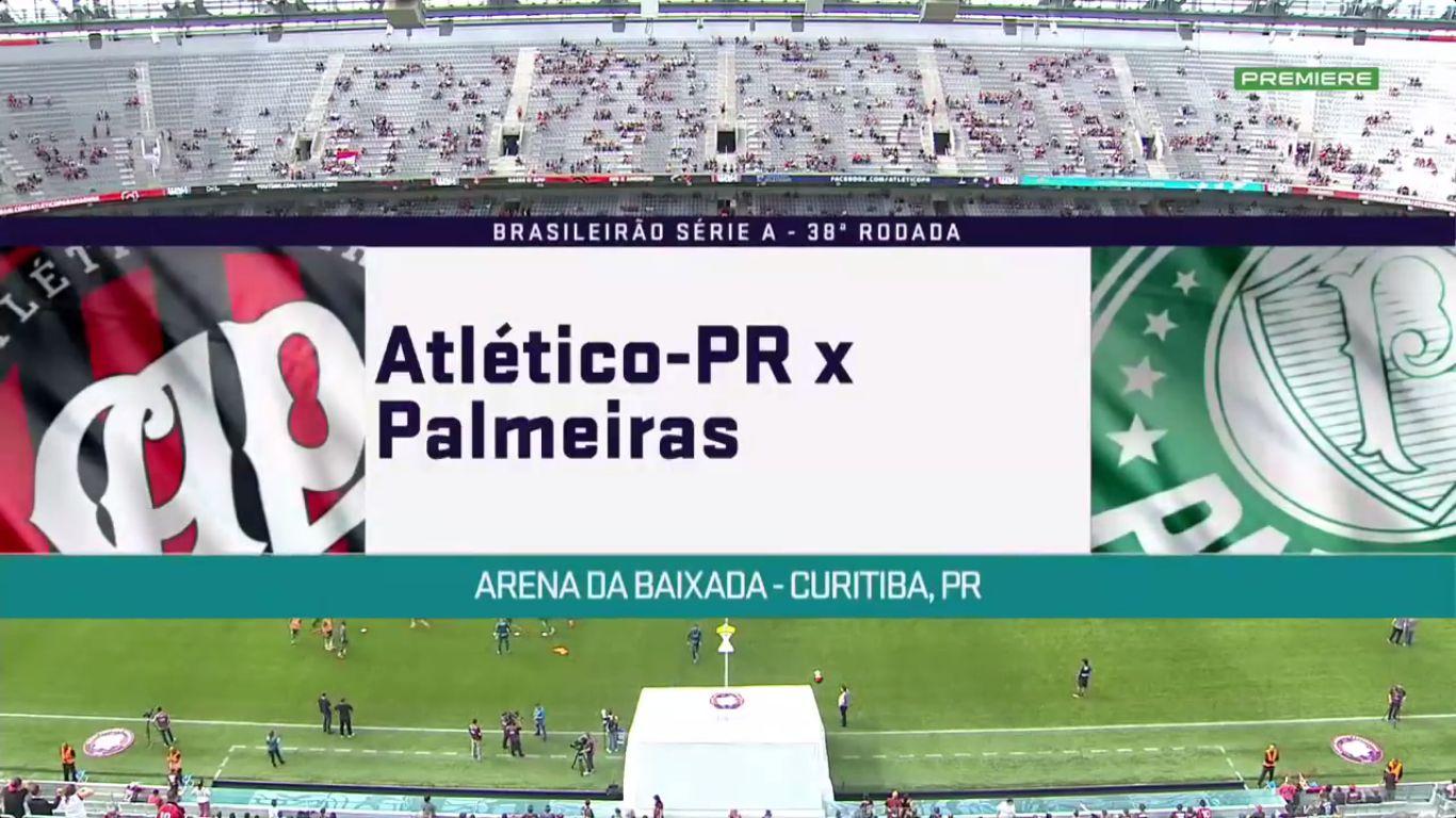 04-12-2017 - Atletico PR 3-0 Palmeiras