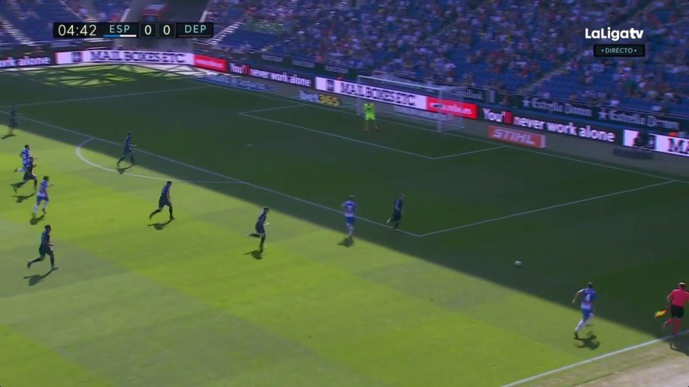 24-09-2017 - Espanyol 4-1 Deportivo La Coruna