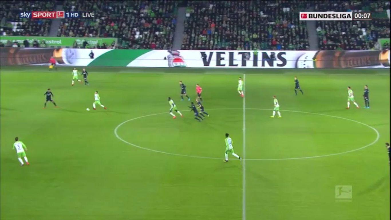05-11-2017 - Wolfsburg 3-3 Hertha Berlin