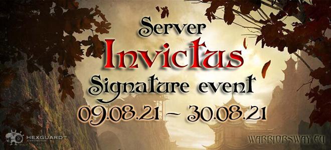 Warrior's Way online - Signature event