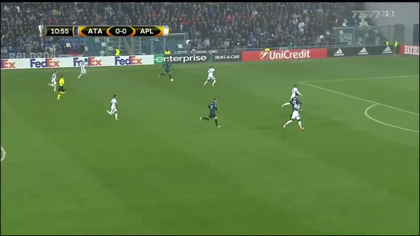19-10-2017 - Atalanta 3-1 Apollon Limassol (EUROPA LEAGUE)