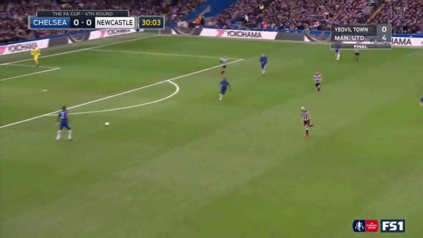28-01-2018 - Chelsea 3-0 Newcastle United (FA CUP)