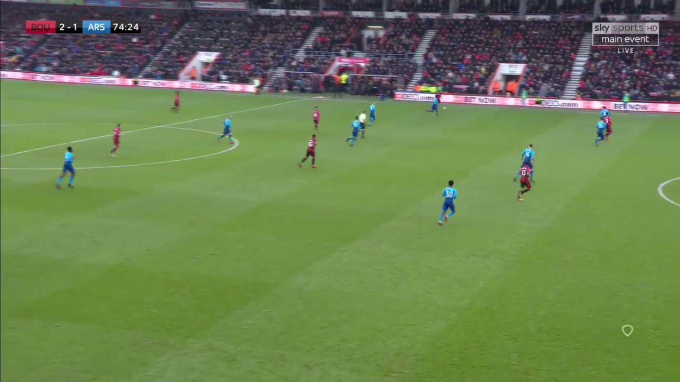 14-01-2018 - AFC Bournemouth 2-1 Arsenal
