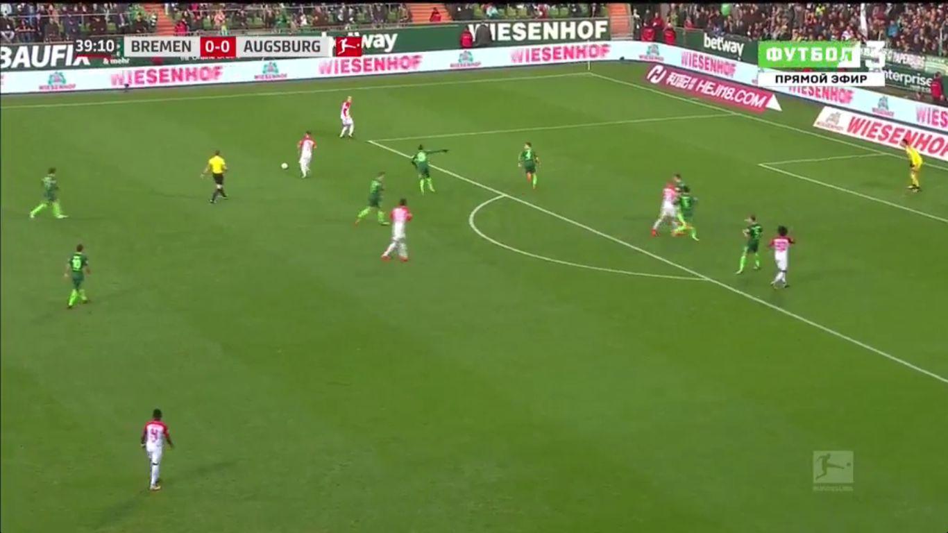 29-10-2017 - Werder Bremen 0-3 Augsburg