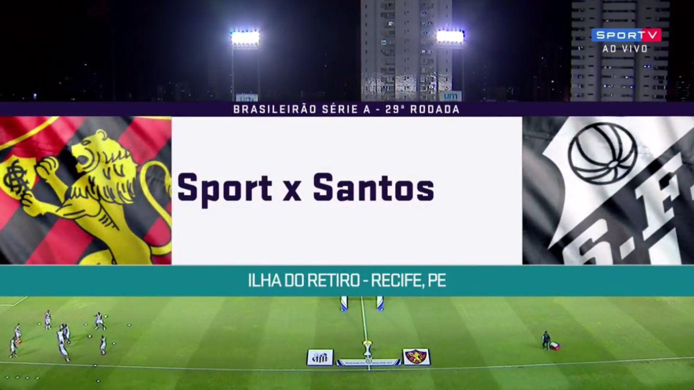 20-10-2017 - Sport Recife 1-1 Santos FC