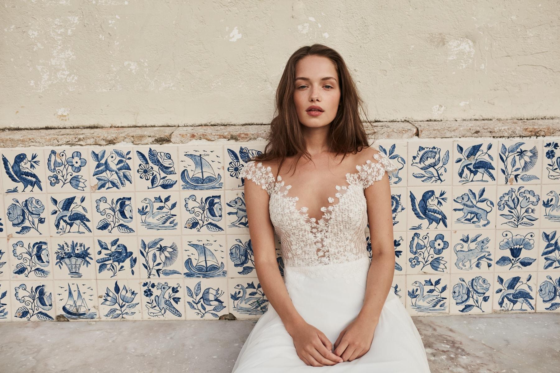 Brautkleider aus Seide