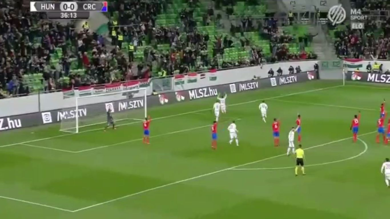 14-11-2017 - Hungary 1-0 Costa Rica (FRIENDLY)