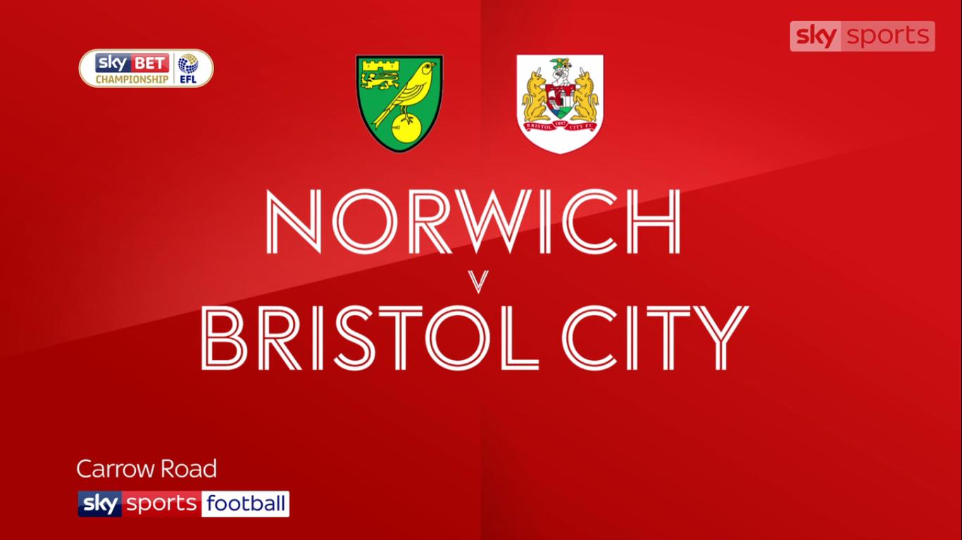 23-09-2017 - Norwich City 0-0 Bristol City (CHAMPIONSHIP)